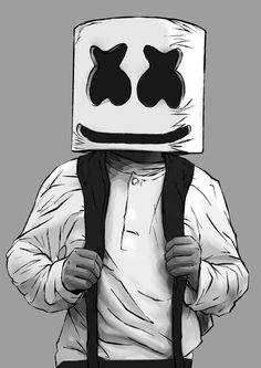 Marshmello - Alone by Endman3010 on DeviantArt
