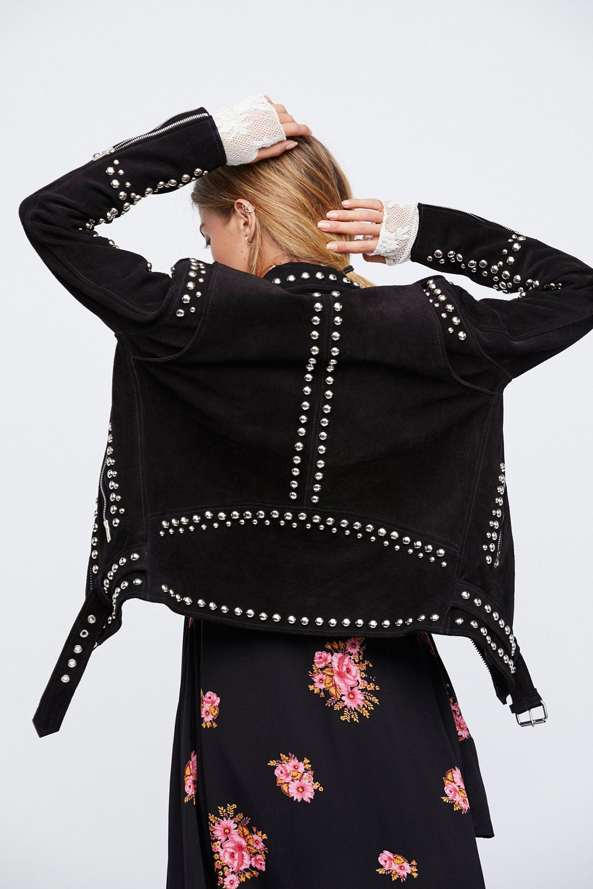 Studded Easy Rider Jacket (With images) Riders jacket