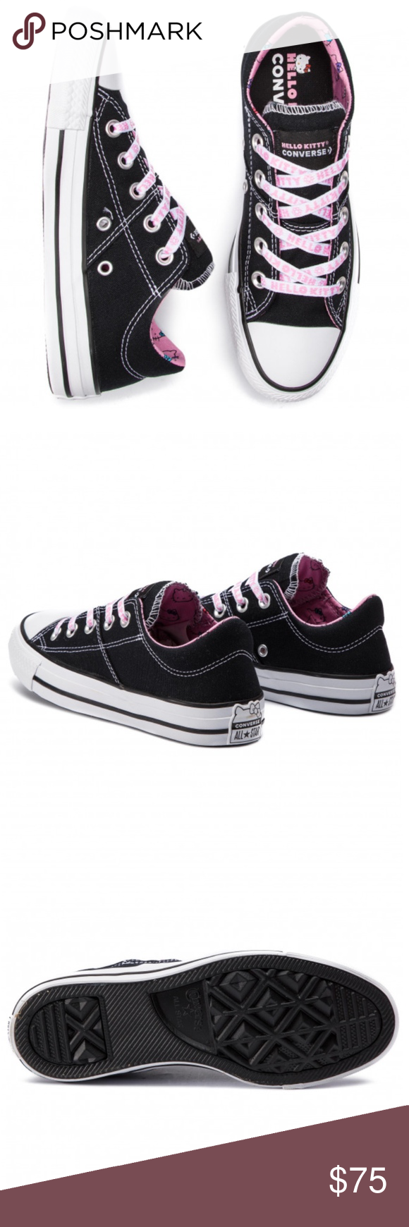 8ad175b7d7f0 New Converse CTAS Madison OX Hello Kitty Sneakers Brand new in box. Size 7  RARE