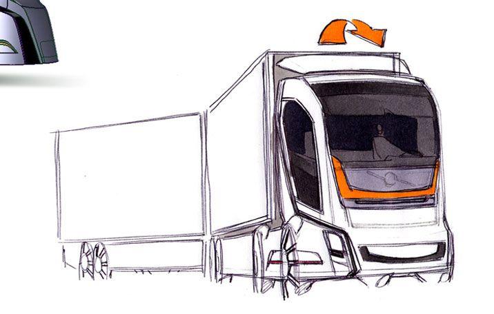Vision 2020 Concept Volvo Trucks Caminhoes