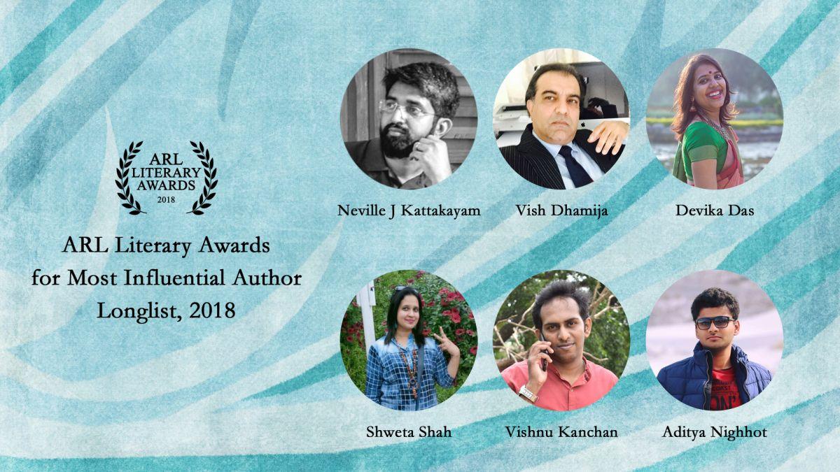 ARL Literary Awards Longlist 2018 Literary, Best authors