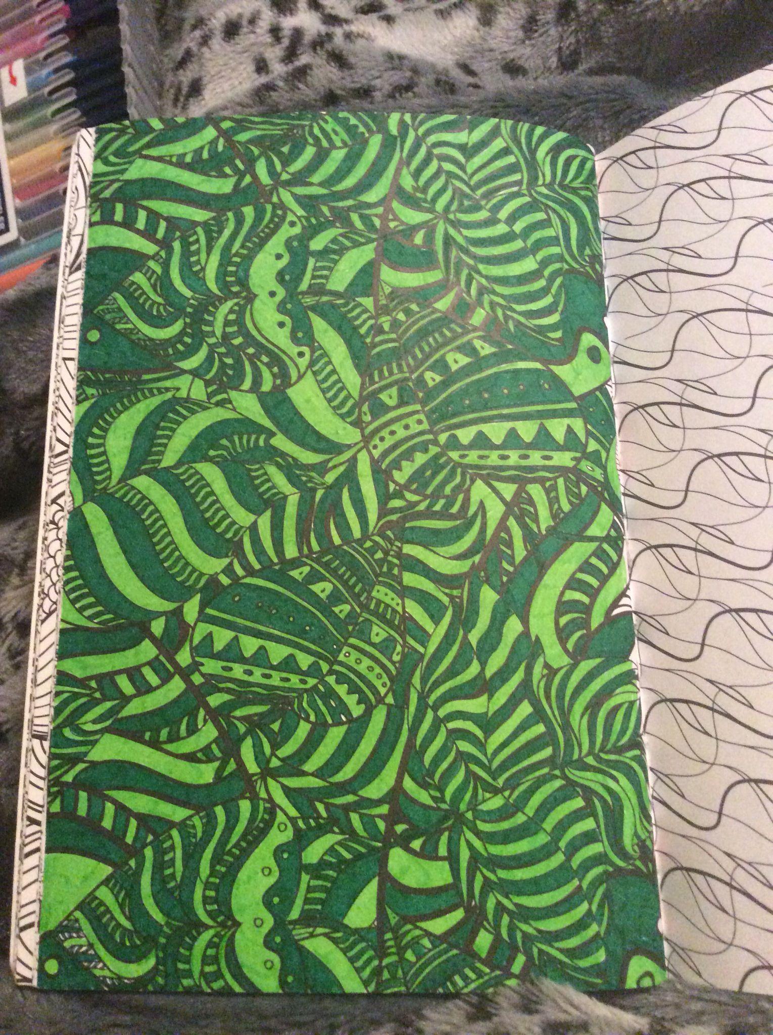 Kleurplaat Uit Het Derde Enige Echte Kleurboek Voor Volwassenen Door Aurelie Coloring Books Colorful Space Coloring Pages