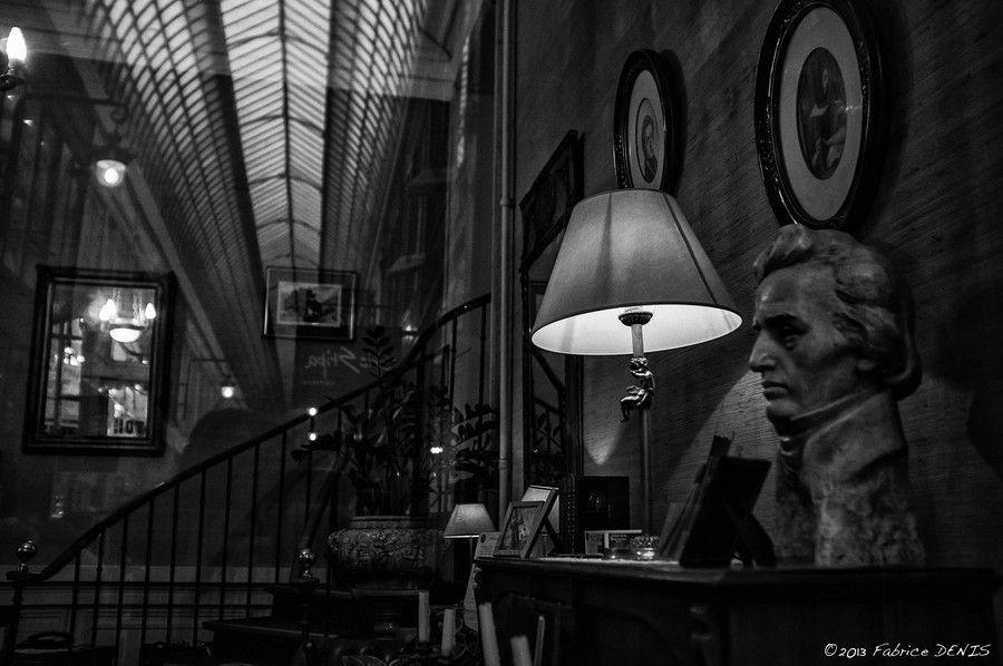Paris by Fabrice Denis on 500px Photowalk 23/11/13 - Les Passages Parisiens - Le Passage Jouffroy Mirrors and Reflections à Hotel Chopin.