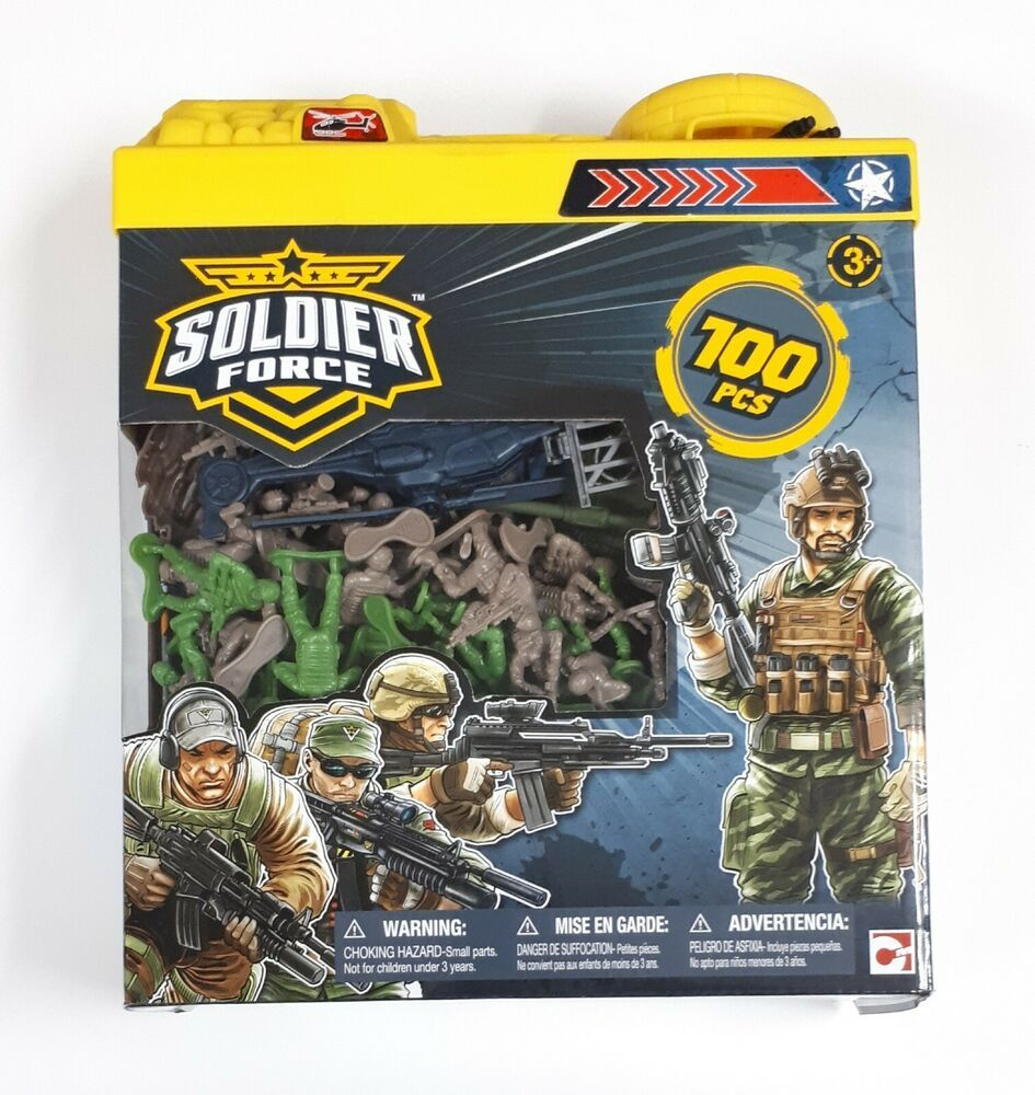 Details About Soldier Force Military Play Set 100 Pieces Toys R