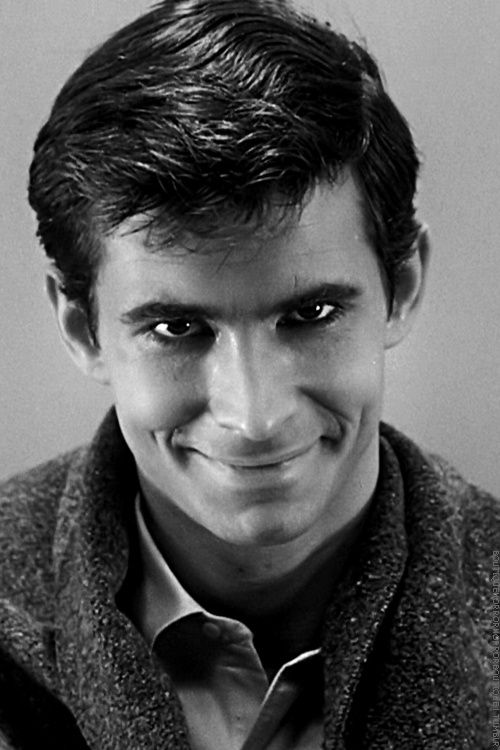 Anthony Perkins as 'Norman Bates