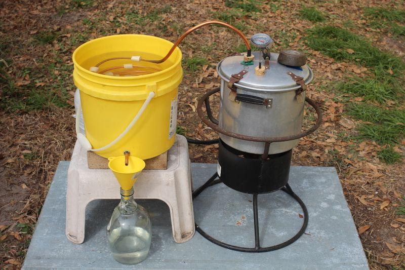 Homemade Pot Still Distilling Alcohol Alcohol Still Distillation