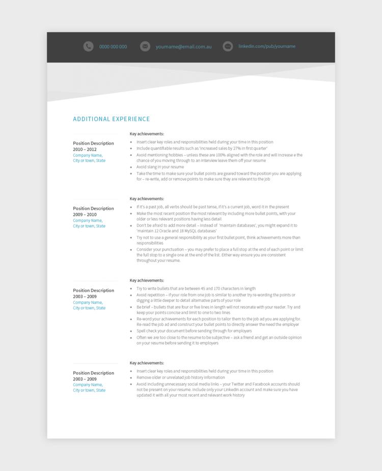 Resume, Good Resume Examples, Resume