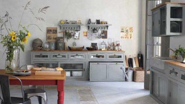 Cuisine Campagne Chic : 9 Magnifiques Idées de Déco | Cuisine and ...