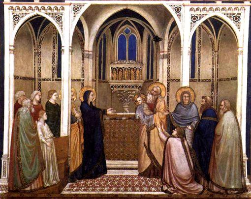 Présentation de l'Enfant Jésus au Temple, Gioto 1310
