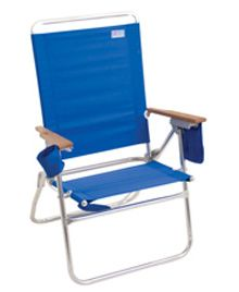 The Hi-Boy® Beach Chair-Pacific Blue from Rio Brands