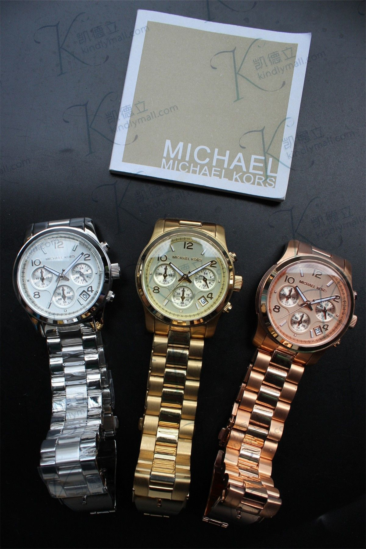 690479979d26 Michael Kors Midsized Chronograph Runway Watch MK5055 MK5076 MK5128 -  Kindlymall
