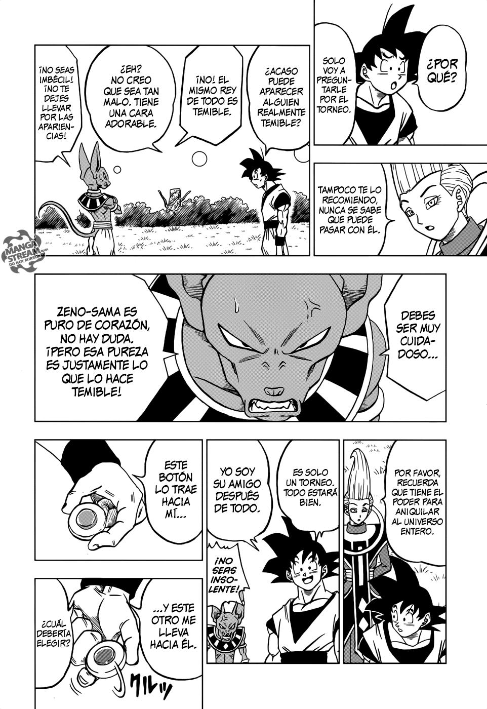 Pagina 44 Manga 27 Dragon Ball Super Dragones Dragon Ball Manga