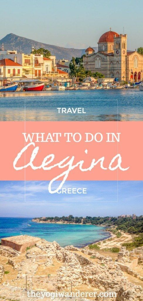Top 6 Things to Do in Aegina Island, Greece #visitgreece