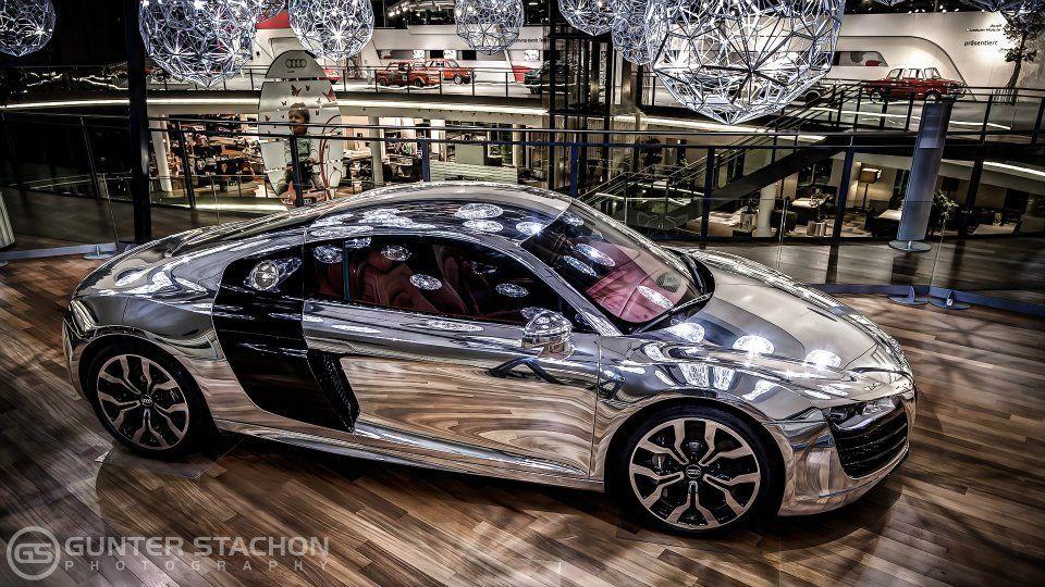 Audi R8 Aluminium Edition