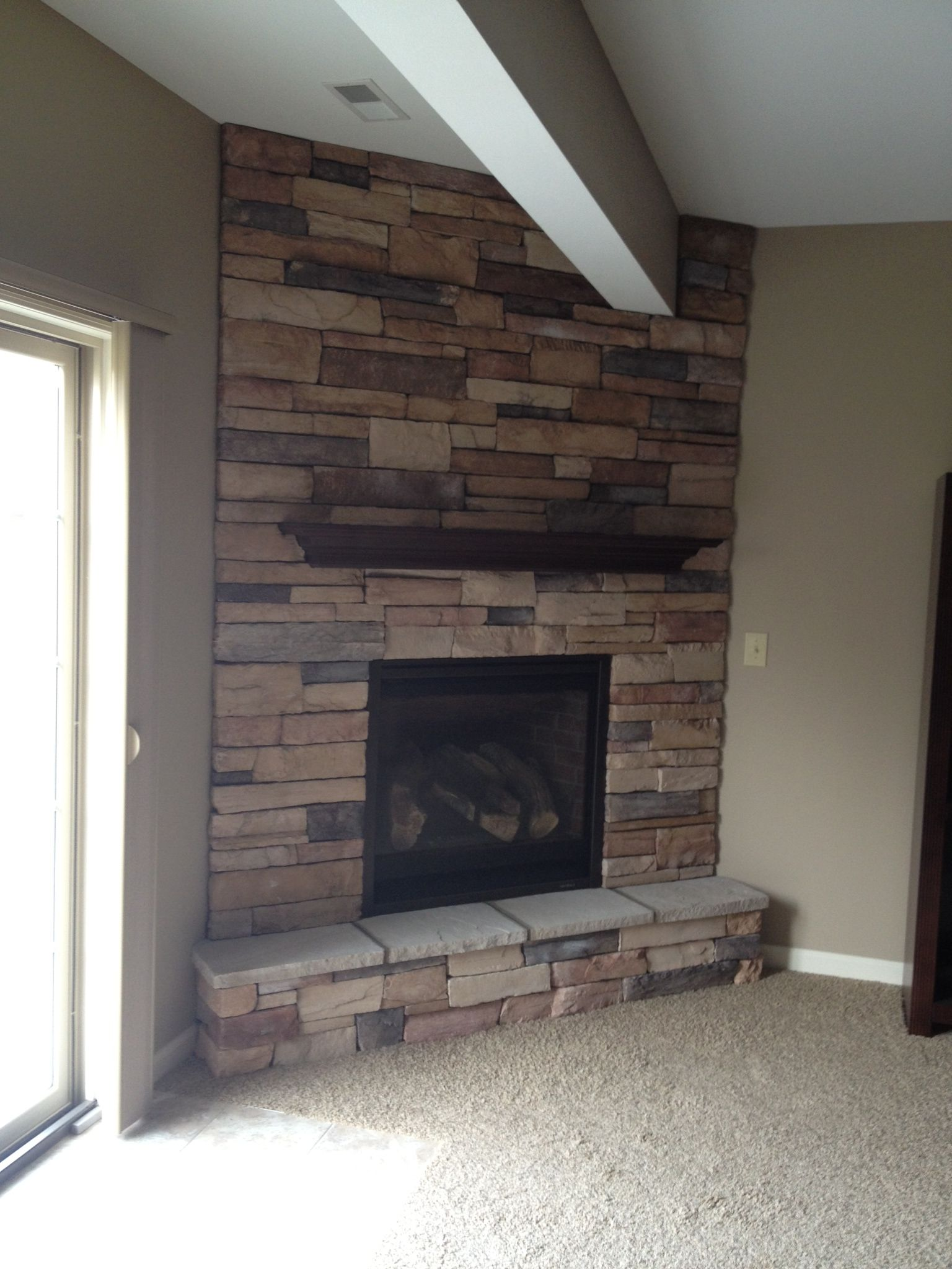 Fireplace Downstairs Home Decor Home Decor