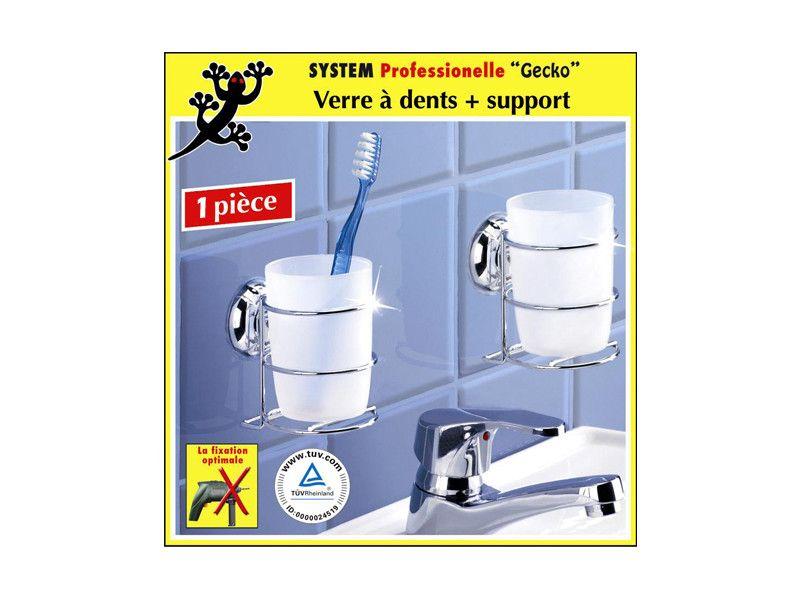 Porte Savon En Acier Chrome Verre Fixation Ventouses Gecko Accessoires Salle De Bain Porte Savon Deco Salle De Bain