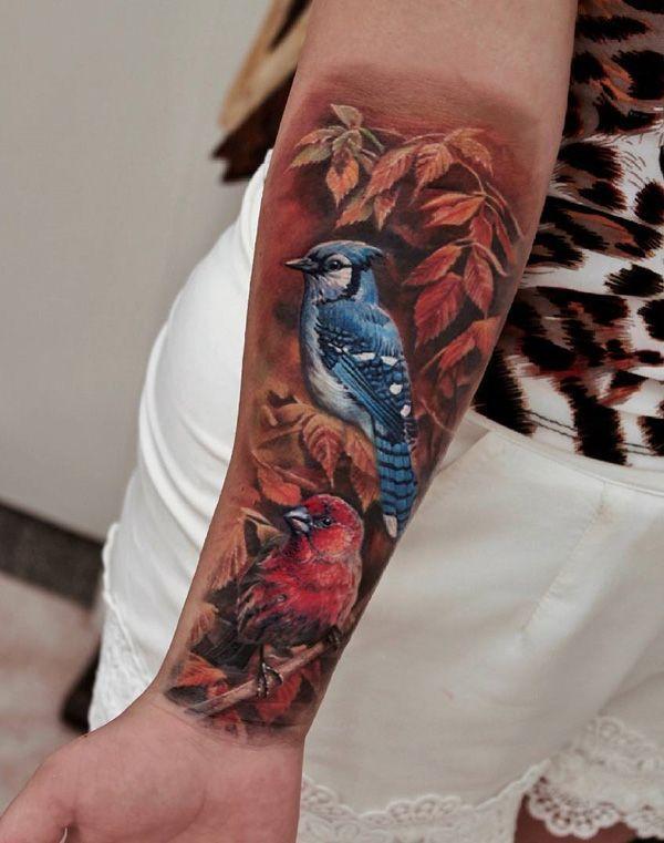Photo of 110 beautiful bird tattoo designs – 110 beautiful bird tattoo designs …
