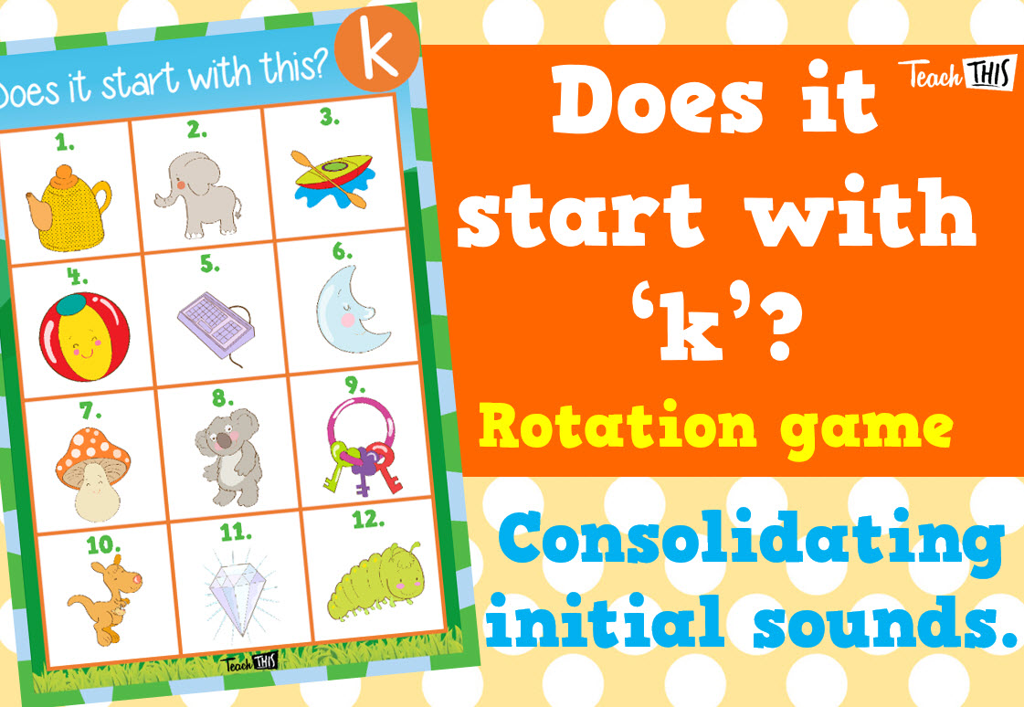 Does it start with this k Classroom games, Teacher