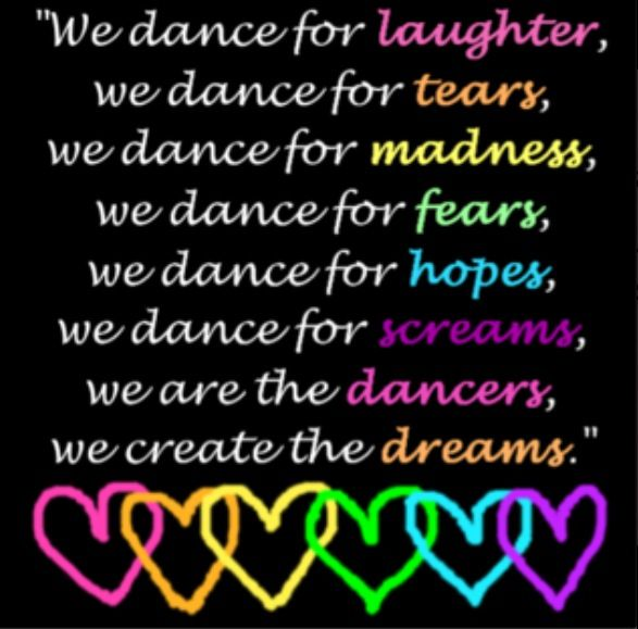 Not doing dance this year but this is sooooo true