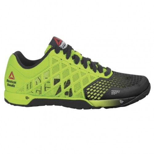 2bfd5c68099 Reebok Crossfit Nano 4.0 Solar Mens Training Shoe M49987 Solar Green-Black
