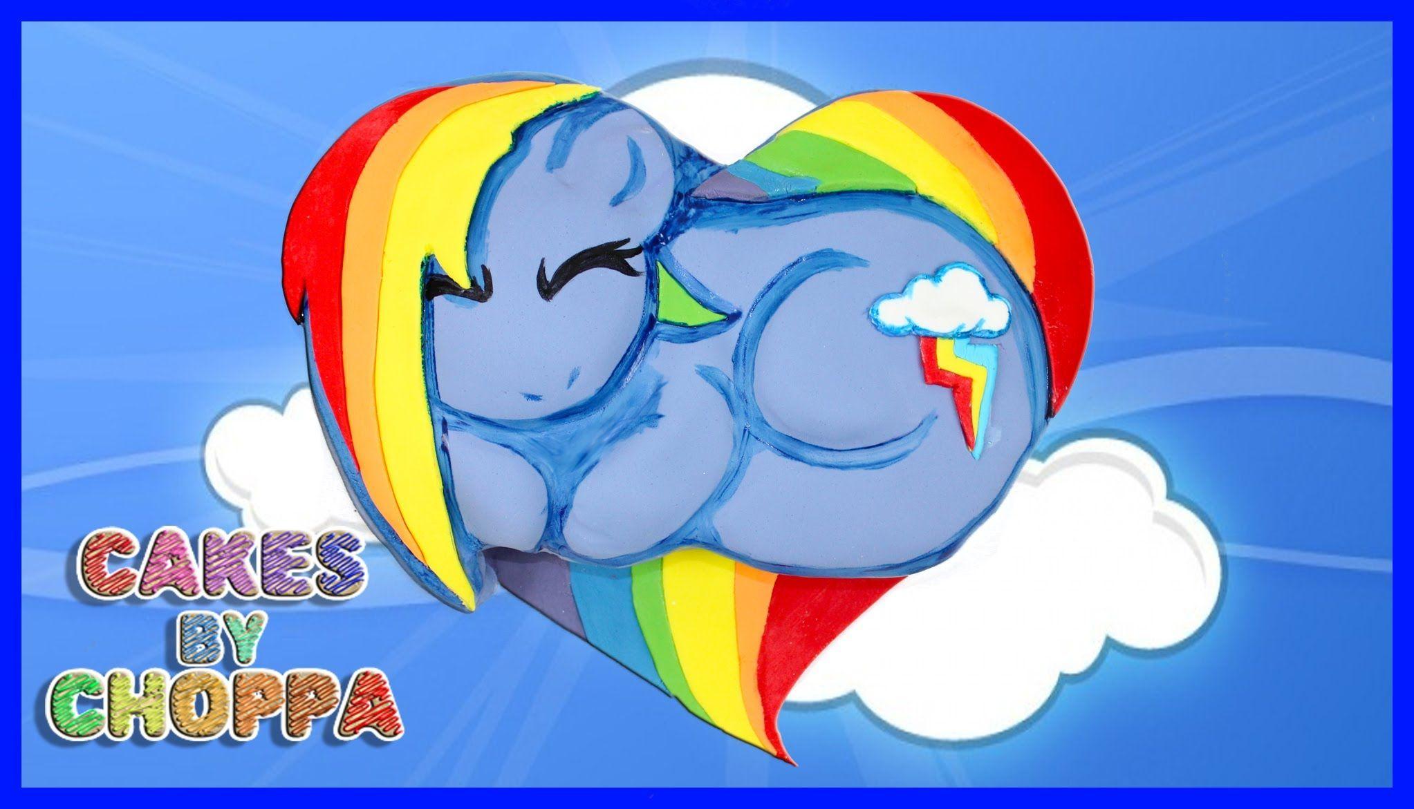 Rainbow Dash | My Little Pony Cake (How To)
