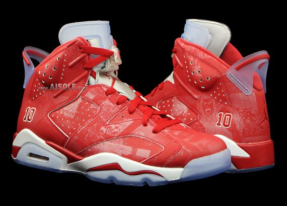 best authentic 50e09 f3d7c slam dunk jordan 6 retros 2 The Anime Inspired Air Jordan 6 Slam Dunk