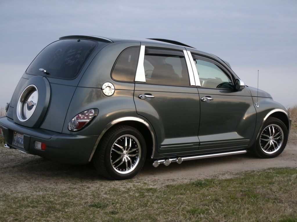 Pimped Out Cruiser Pt Cruiser With Images Pt Cruiser