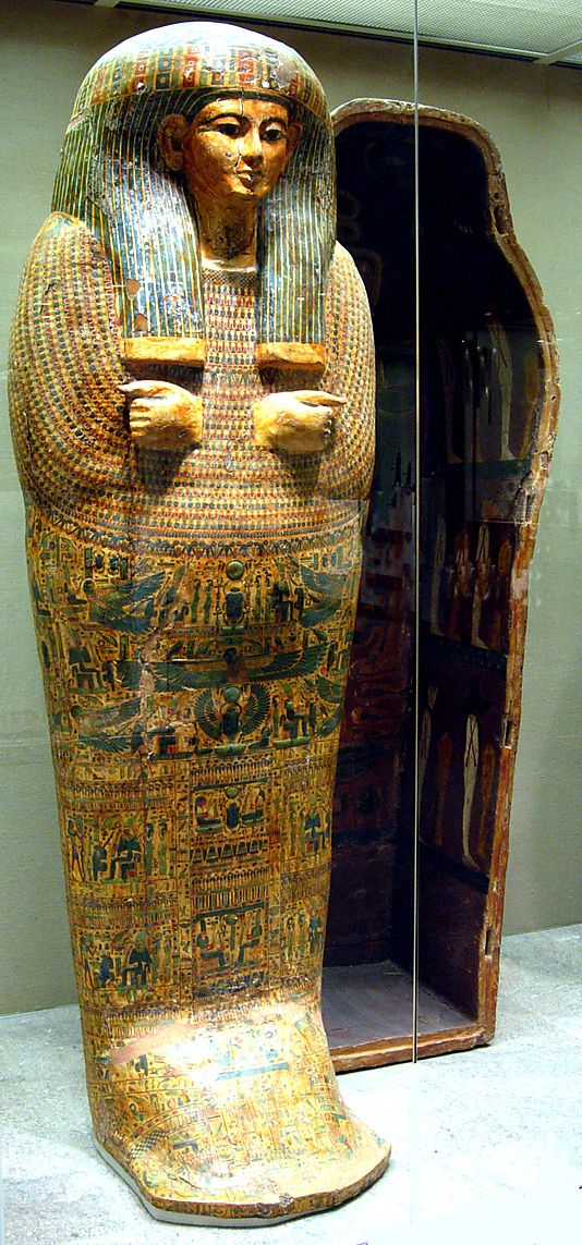 Outer Coffin of Tabakmut, Thebes Egypt, ca. 1000-945 B.C. - Metropolitan Museum