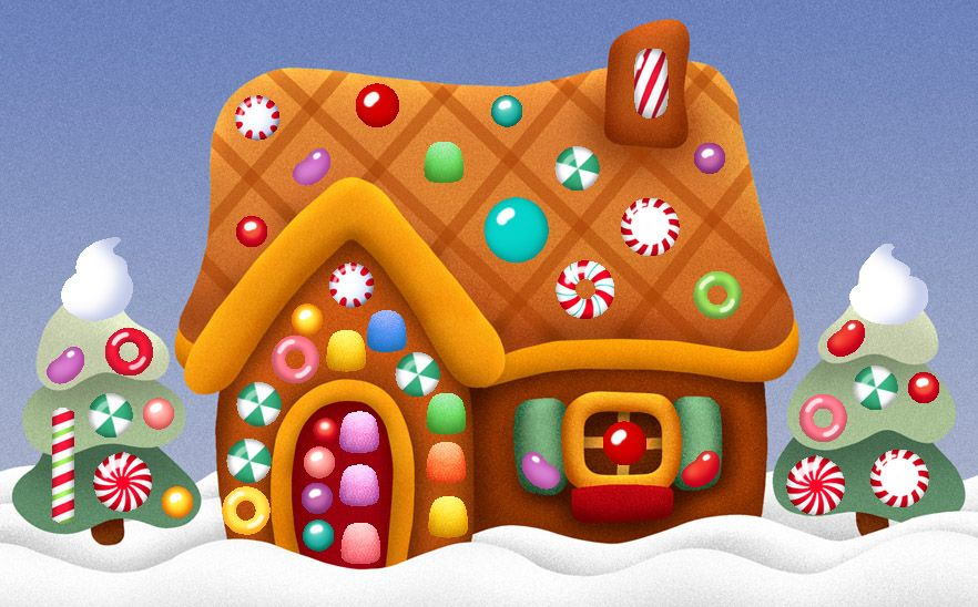 Image result for gingerbread house cartoon