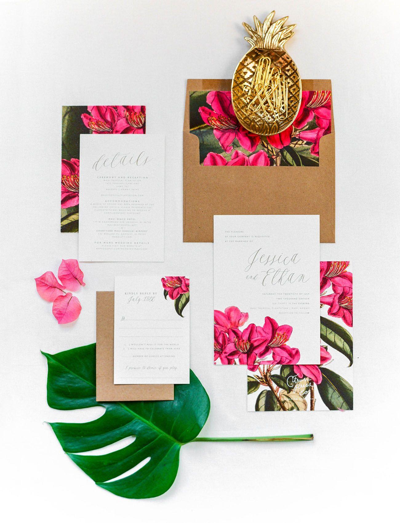 Tropical Bridal Inspiration in Maui, Hawaii | Maui weddings ...