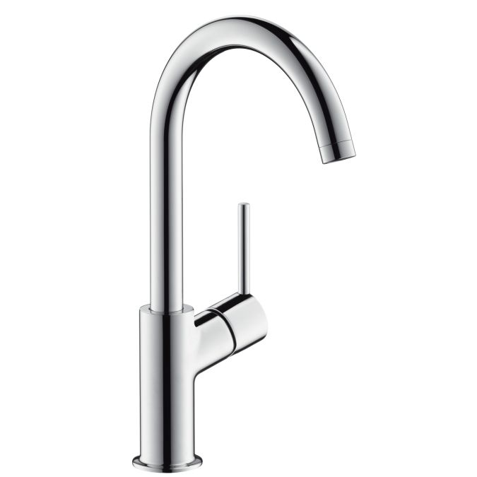 Talis Single Lever Basin Mixer 210 With Push Open Waste Set And Fixed Spout Han Bathroom Faucets Bathroom Sink Faucets Single Hole High Arc Bathroom Faucet