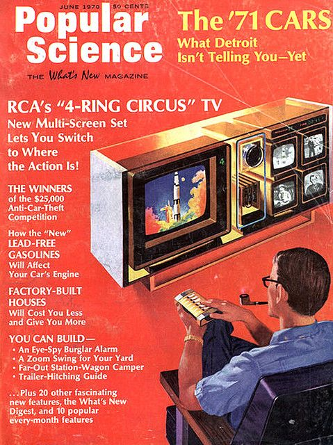 RCA's 4-ring circus TV: now THAT's a television.