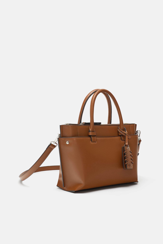 6f5fa4254718 BOLSO DE MANO MIDI | Handbags | Handbags, Zara new, Zara