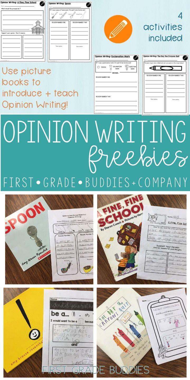 Opinion Writing | Writing Templates | Reading Response (W K.1 + W ...