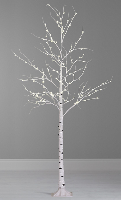 John Lewis Pre Lit Paper Birch Christmas Tree White 8ft Twig Christmas Tree White Twig Tree Pre Lit Twig Tree