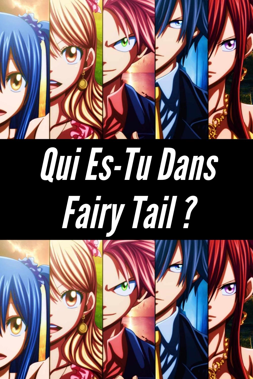 Quel Personnage De Fairy Tail Es Tu : personnage, fairy, Personnalité