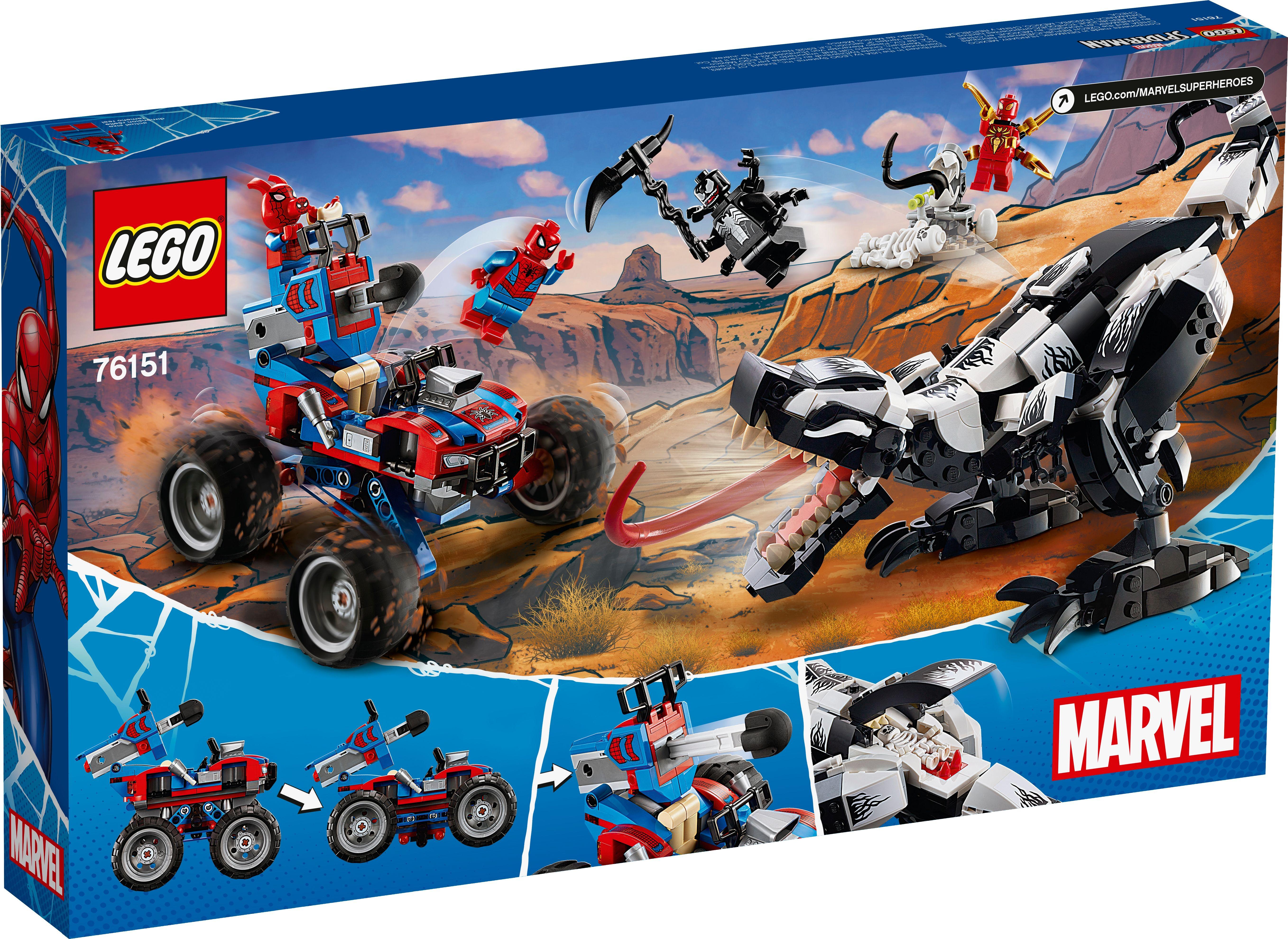Venomosaurus Ambush 76151 Marvel Buy Online At The Official Lego Shop Us Lego Marvel Lego Marvel Super Heroes Lego Marvel S Avengers