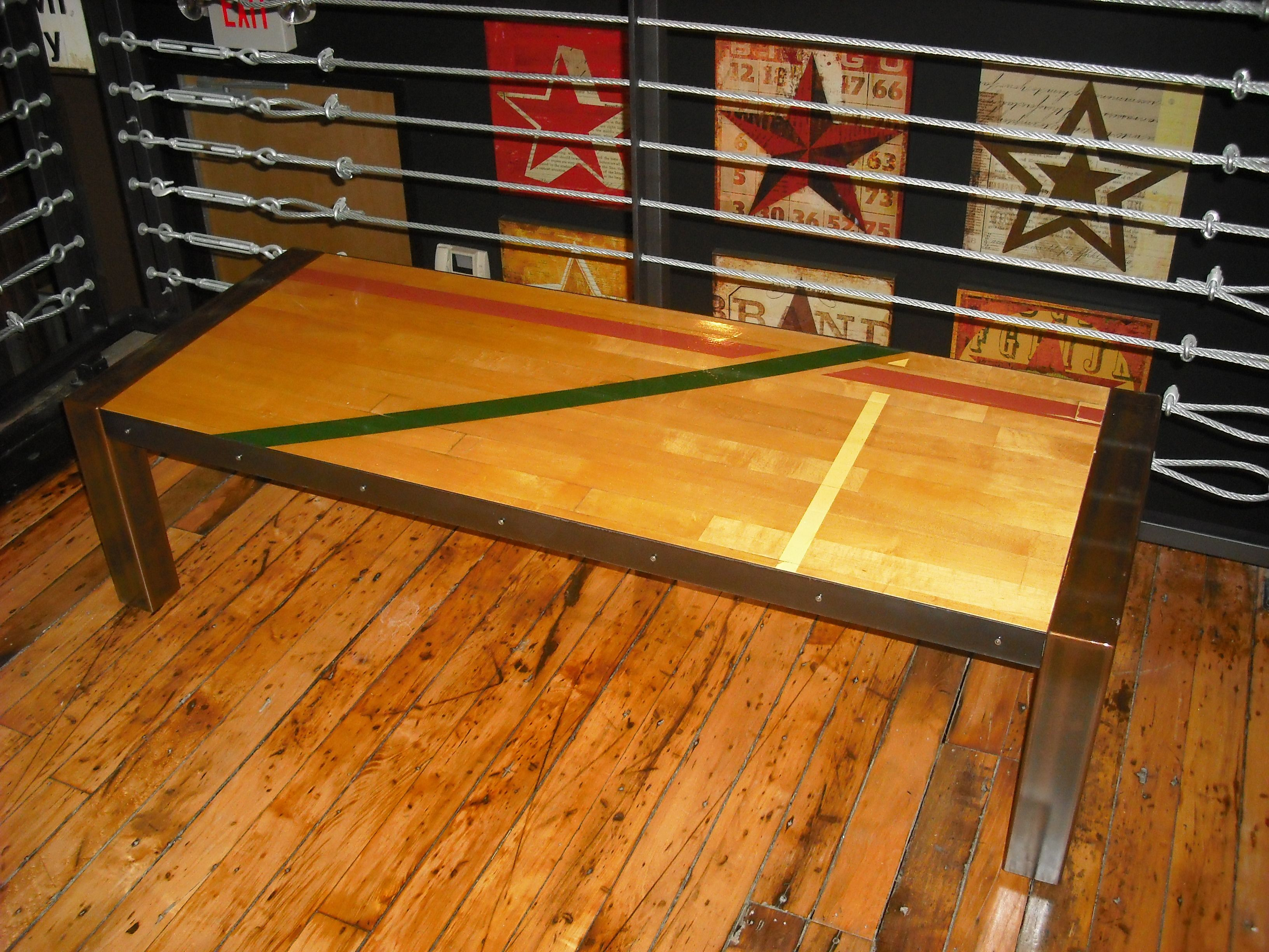 Elegant Gym Floor Designs