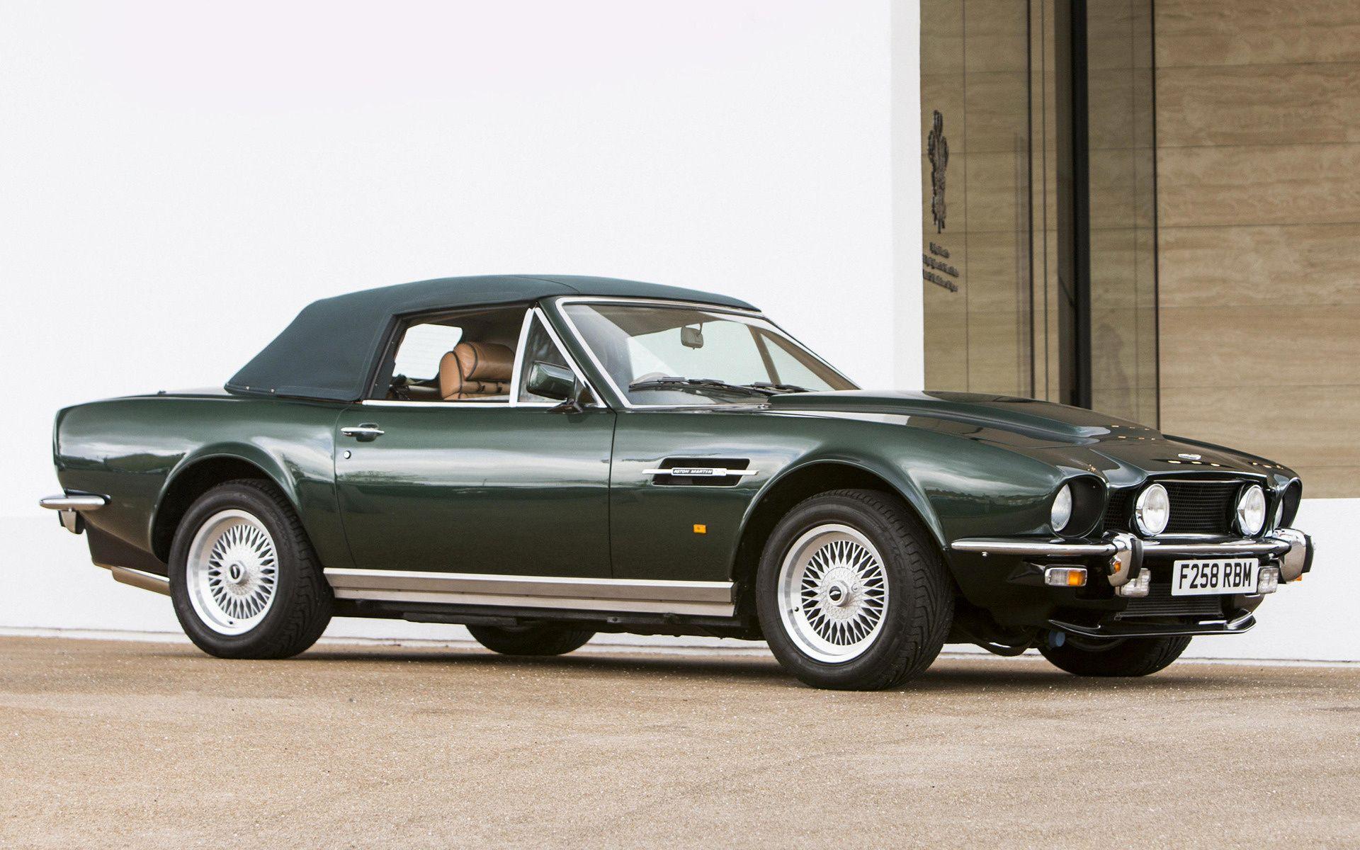 1989 Aston Martin V8 Vantage Volante Prince Of Wales Traumauto Autos Petrol