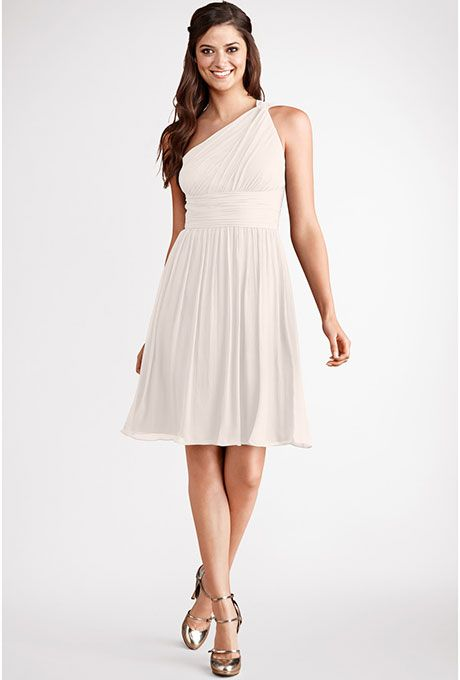 Short Plus-Size Wedding Dresses   Donna morgan, White lilies and ...