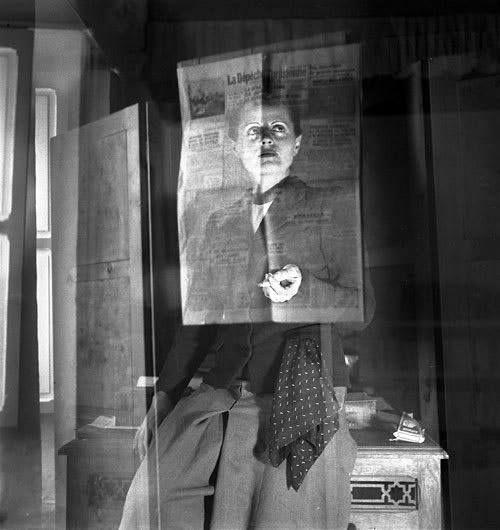 Ré Soupault Self-Portrait, Tunis, 1939