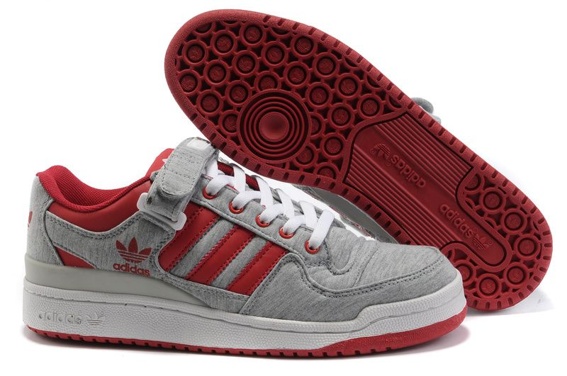 Buy Adidas Adicolor Forum Los Shoes Men Grey Red High Grade Limit Offer  Affordable DYKbE from Reliable Adidas Adicolor Forum Los Shoes Men Grey Red  High ...