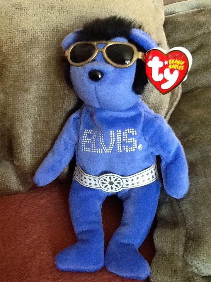 My Beanie Baby of Elvis  d18820ebc07
