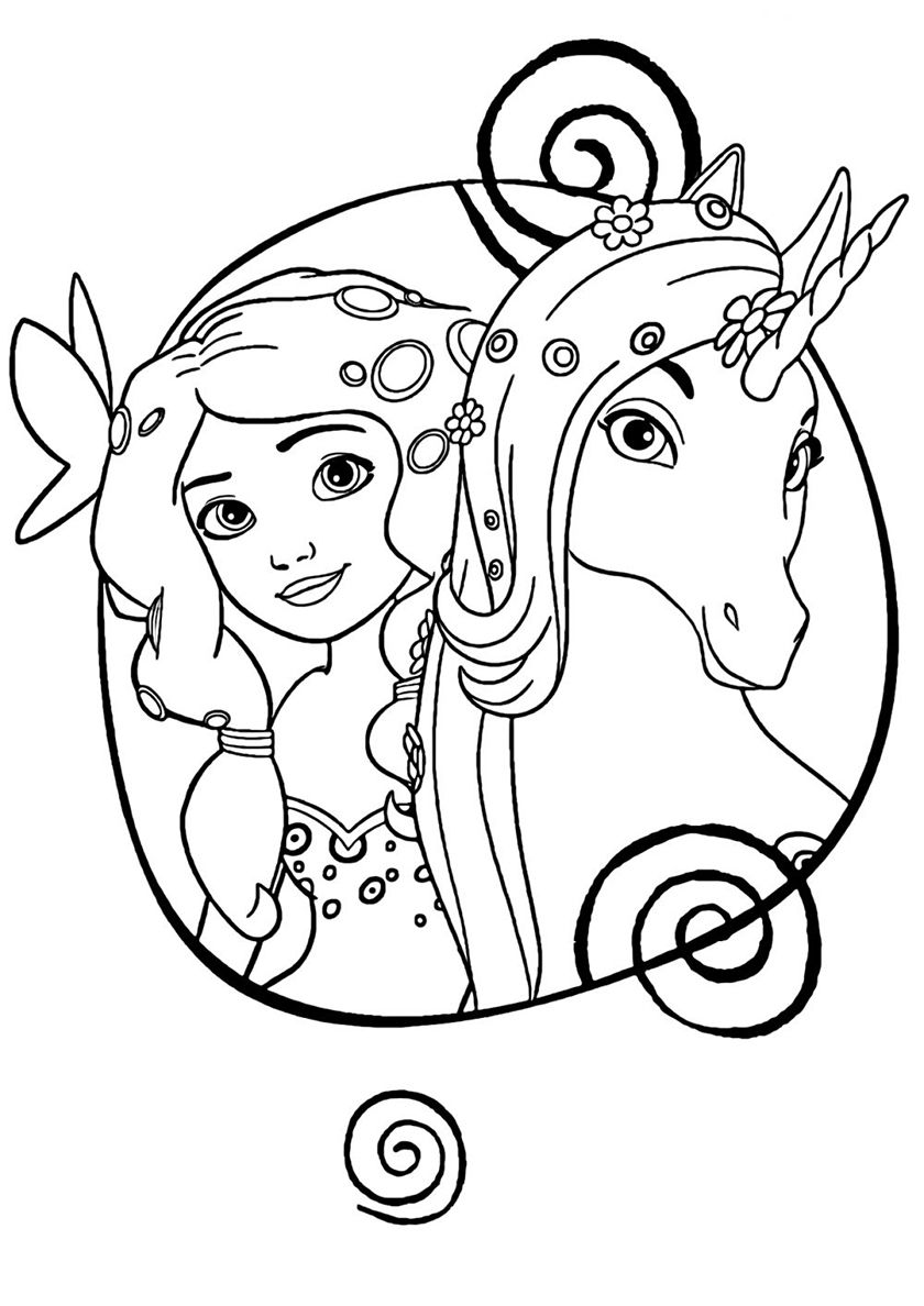 Princess And Unicorn High Quality Free Coloring From The Category Unicorn More Printable Pictures Unicorn Coloring Pages Coloring Pages Free Coloring Pages [ 1188 x 840 Pixel ]