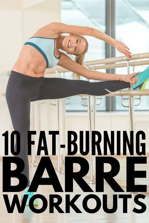 10 at-home barre workouts that burn fat