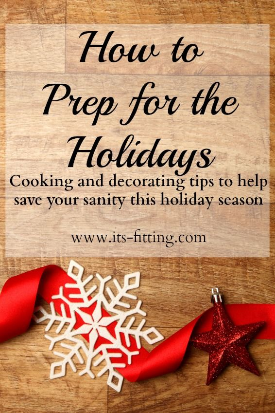 It's the holiday season! Need help in getting things done ahead of time?