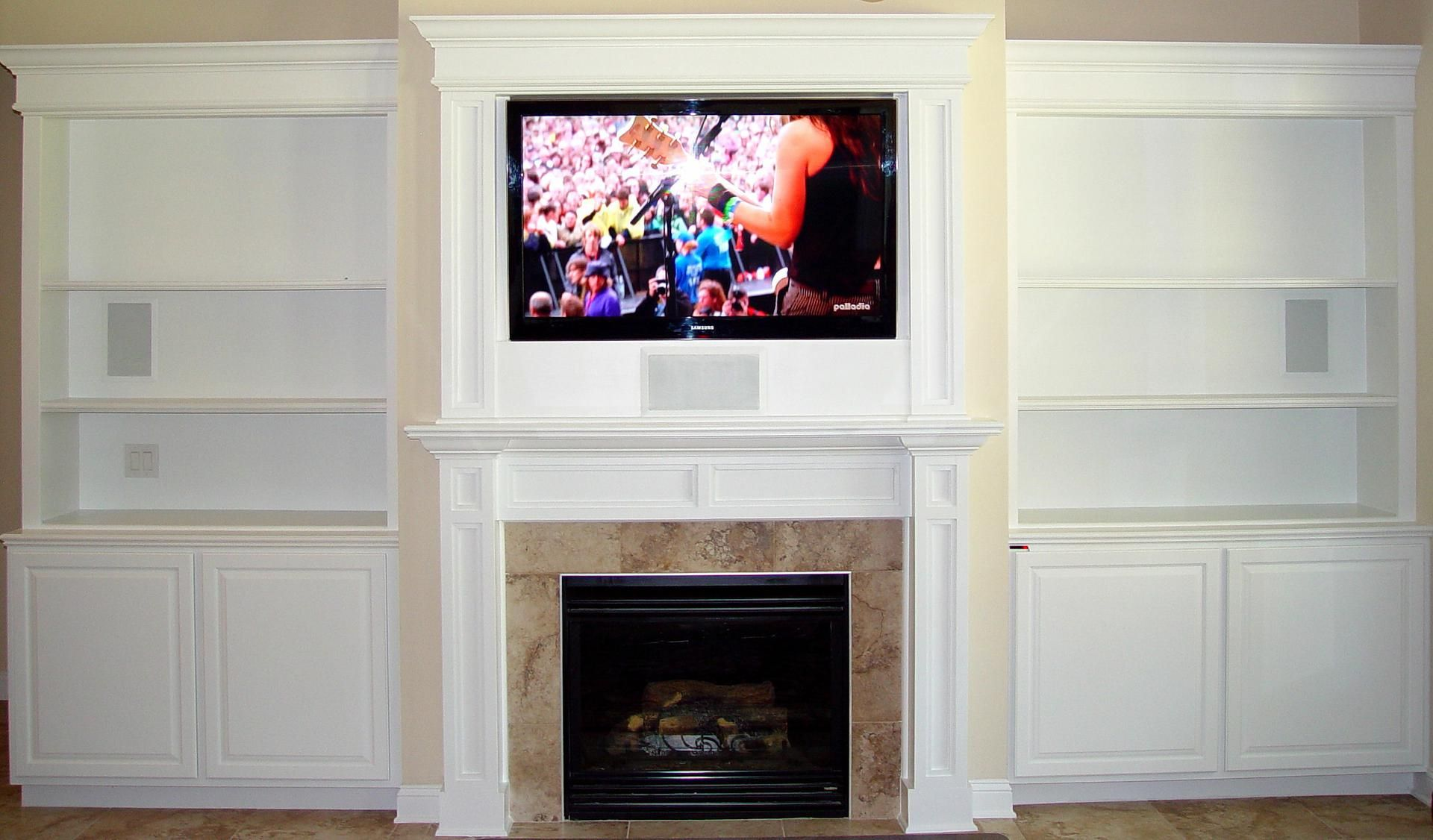 built in entertainment centers | Welcome to CustomMade , a ...