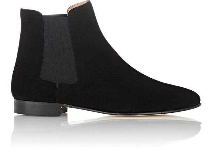15 Under 500 Black Ankle Boots We Love Boots Black Ankle Boots Suede Chelsea Boots