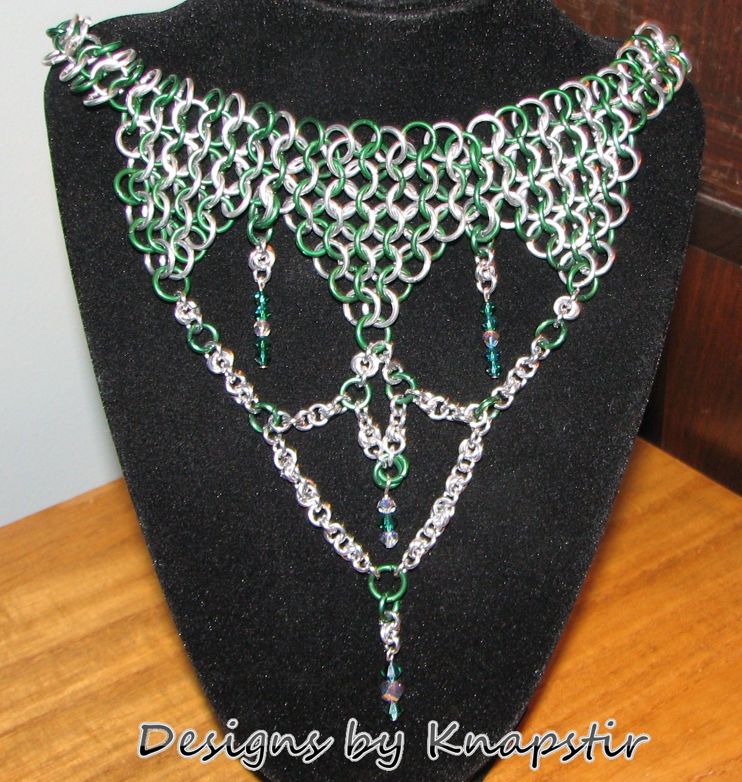 One of my first chainmaille pieces.