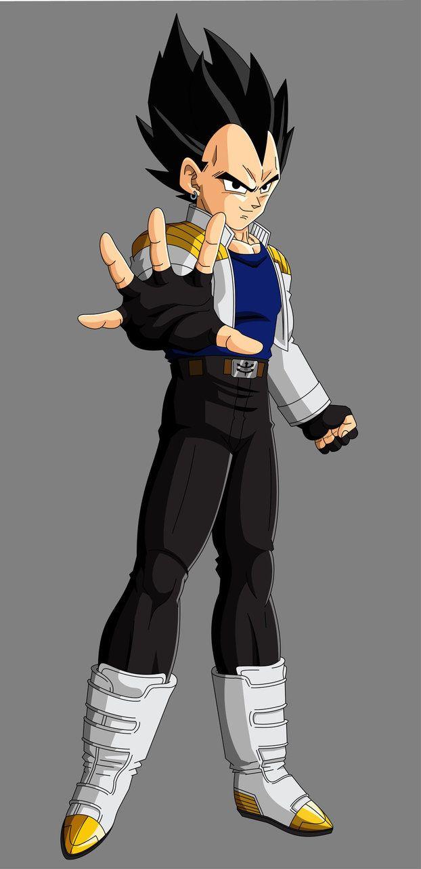 Young Vegeta Jr Personajes De Dragon Ball Diseno De Personajes Dragon Ball Gt